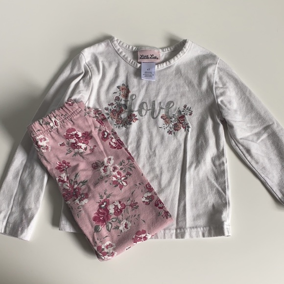 4T Toddler Matching Outfit